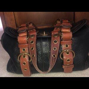 Authentic leather Coach handbag